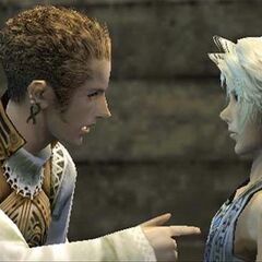 Balthier and Vaan.