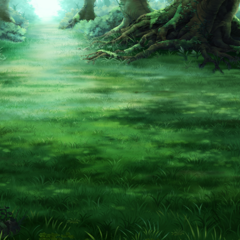Battle background for a forest in the <a href=