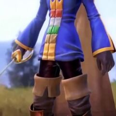 A tease of Ramza as he appears in <i>Dissidia Final Fantasy</i>.