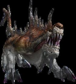 FFXIII enemy Gorgonopsid