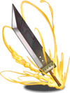 PAD Cloud's Buster Sword
