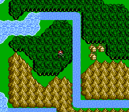 FFIII NES Chocobo Woods 9