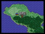 Chaos Shrine World Map PS