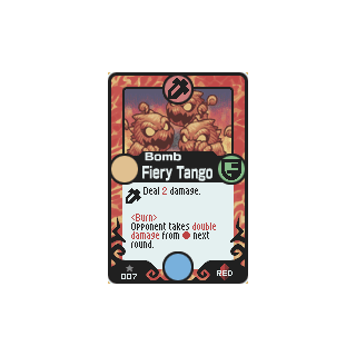 007 Fiery Tango