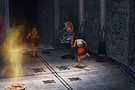 Small boy playing - Final Fantasy X-2 hdRemaster