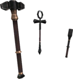 Animated Hammer FFXI