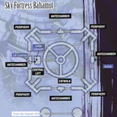 <i>Sky Fortress Bahamut</i> map.