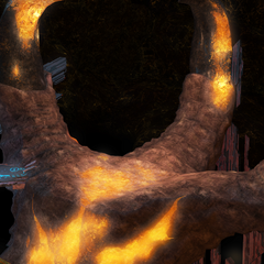 The hand of Bahamut.