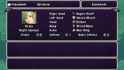 Rydia Adult - Staff Menu