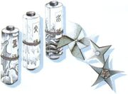 FFVI Scrolls and Shurikens Artwork