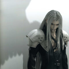 Sephiroth's CGI artwork for <i>Advent Children</i>.