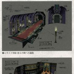 Besaid Temple artwork.