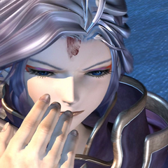 Kuja in an FMV.