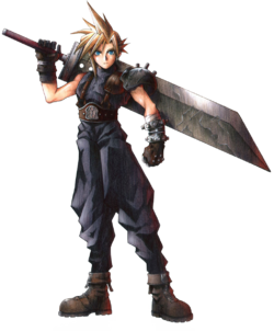 Cloud-FFVIIArt