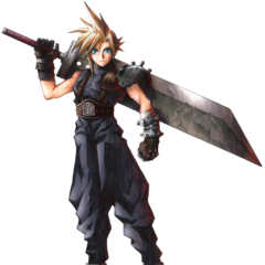 Cloud full art finished.