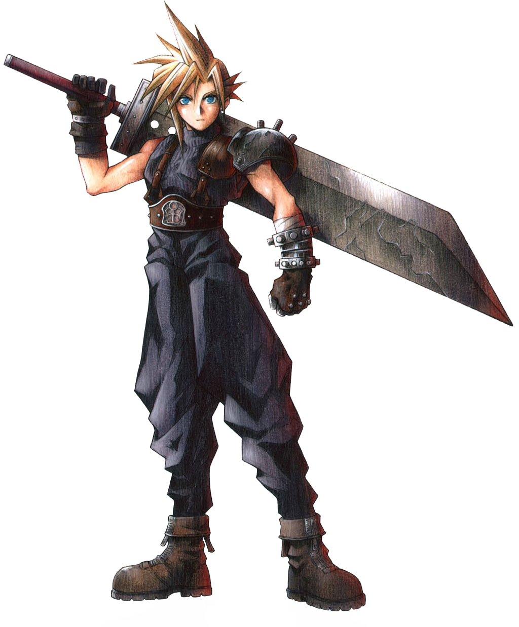 Image result for cloud final fantasy