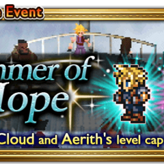 Global event banner for Glimmer of Hope.