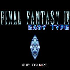 <i>Final Fantasy IV - Easy Type</i> (SFC).
