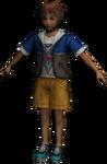 FFX Kid Tidus Render