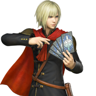 A render of Ace from <i>Dissidia Final Fantasy</i>.