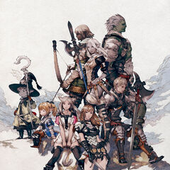 Akihiko Yoshida artwork used on a poster.