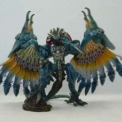 <i>Final Fantasy X</i> Dark Bahamut in <i>Final Fantasy</i> Creatures Vol 1.
