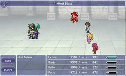 FFV iOS Mind Blast