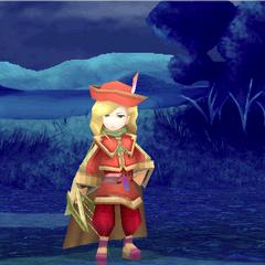 Victory screen in Edward's battle (iOS).