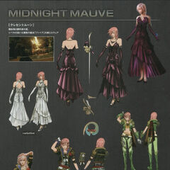 Concept art of Midnight Mauve and Heartstealer.