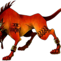 Red XIII full art finished.