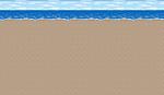 FFIV Battle Background Beach SNES