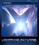 LRFFXIII Steam Card Liberator