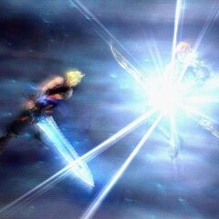 <i>Dissidia Final Fantasy</i> and <i>Dissidia 012 Final Fantasy</i>.