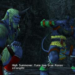 Garik challenges Yuna.