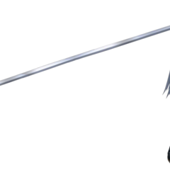 Shirtless Sephiroth render from <i>Dissidia Final Fantasy</i>.