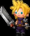 Cloud dans Theatrhythm Final Fantasy