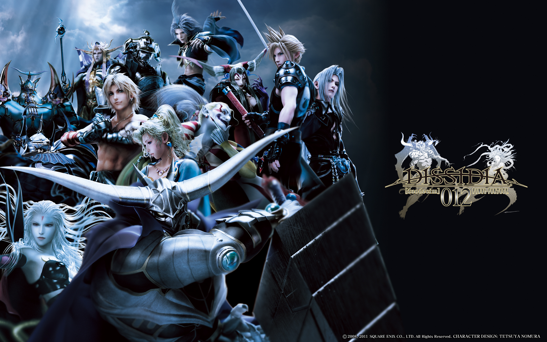 Dissidia 012 Final Fantasy - Cast Images | Behind The Voice Actors