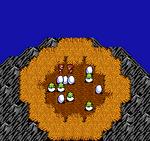 FFIII NES Bahamut's Nest