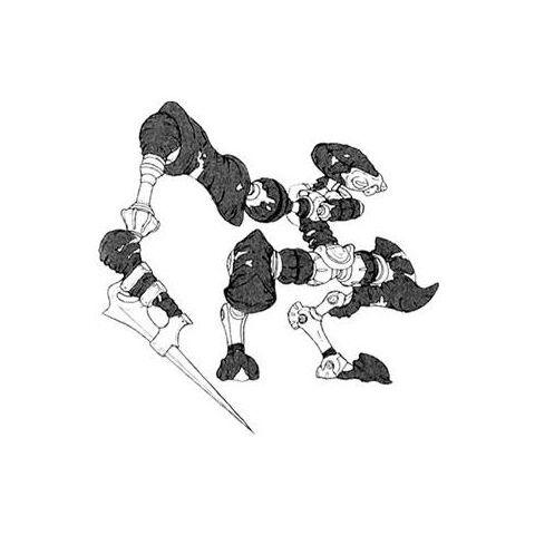 Concept art of Mech Guard.