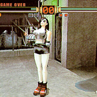 Tifa's in-game model.