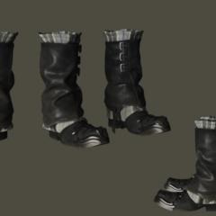 Ardyn's boots.