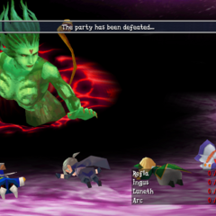 <i>Final Fantasy III</i> (iOS).
