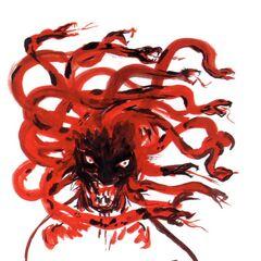 Artwork of Medusa by <a href=