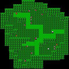 Tropical Island's Village (NES).