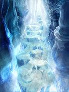 Ice Cavern CG FFIX Art