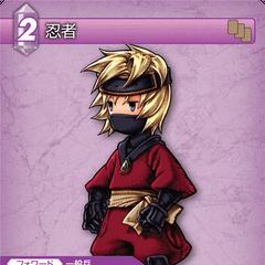 Ninja trading card (Thunder).