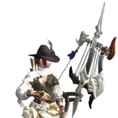 Bard render for the original <i>Final Fantasy XIV</i>.