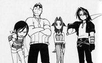 FF Cast in Kingdom Hearts