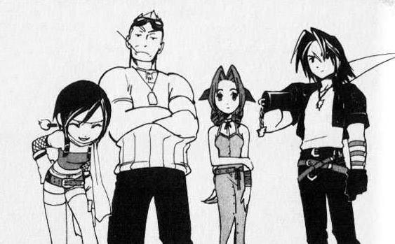 File:FF Cast in Kingdom Hearts.jpg