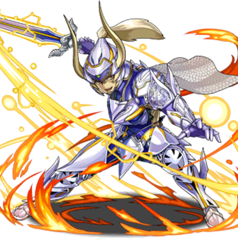 Wol in <i>Puzzle &amp; Dragons</i>.
